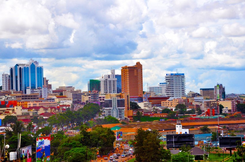 A view of Kampala via adonaiguesthouses.com